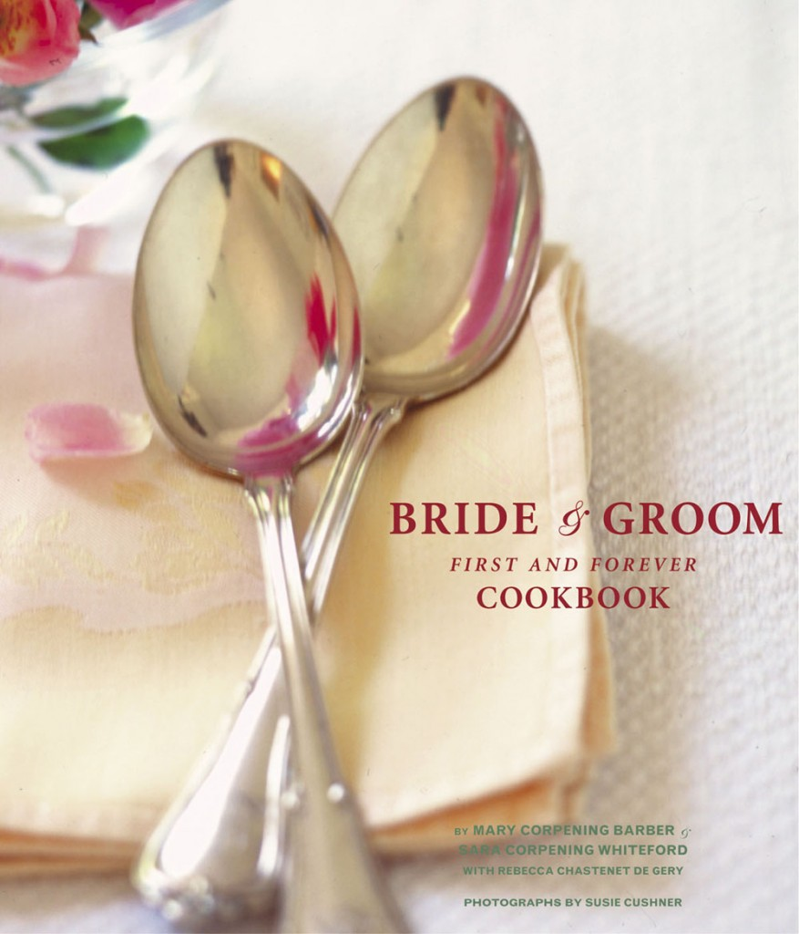 Mary and Sara - Bride and Groom First and forever cook book
