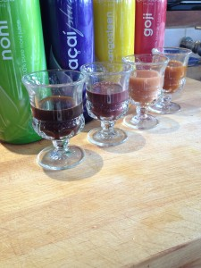 We love our superfruit shots in the morning!