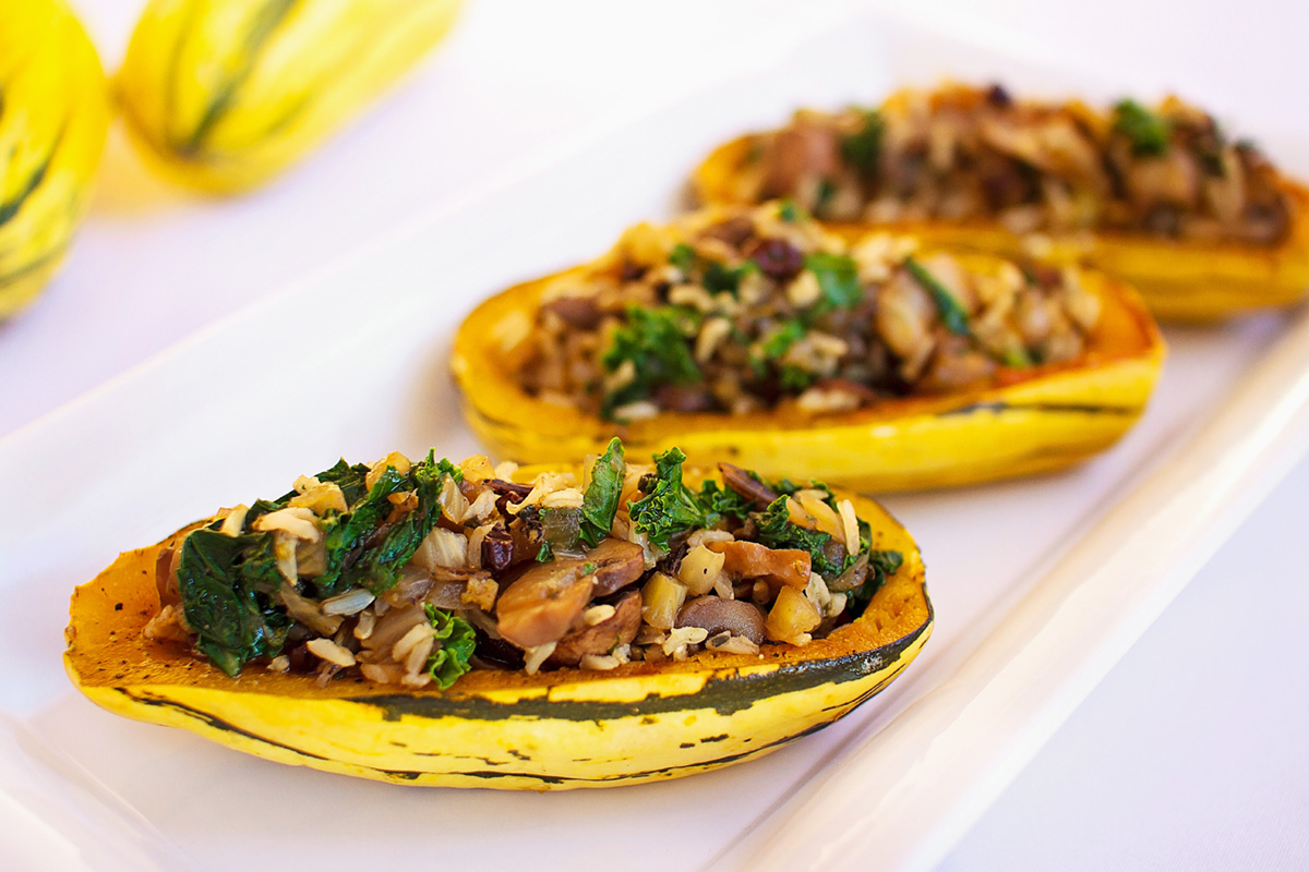 Mary and Sara - Delicata Squash