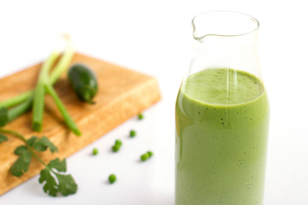 Mary and Sara - Cilantro and Lime Salad Dressing