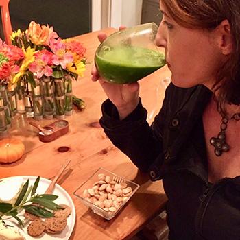 Green Goddess Beverage Cocktail Mary and Sara